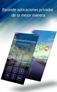C launcher: tema de bricolaje, ocultar aplicación captura de pantalla 8