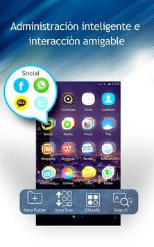 C launcher: tema de bricolaje, ocultar aplicación captura de pantalla 10