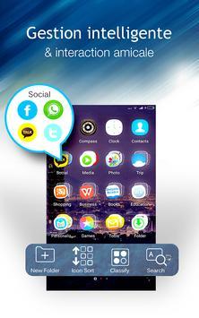 Lanceur C: thème DIY, masquer l'application capture d'écran 3