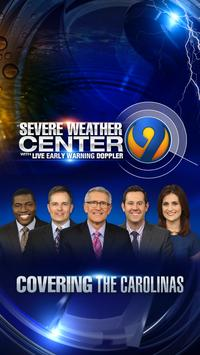 WSOC-TV Weather poster
