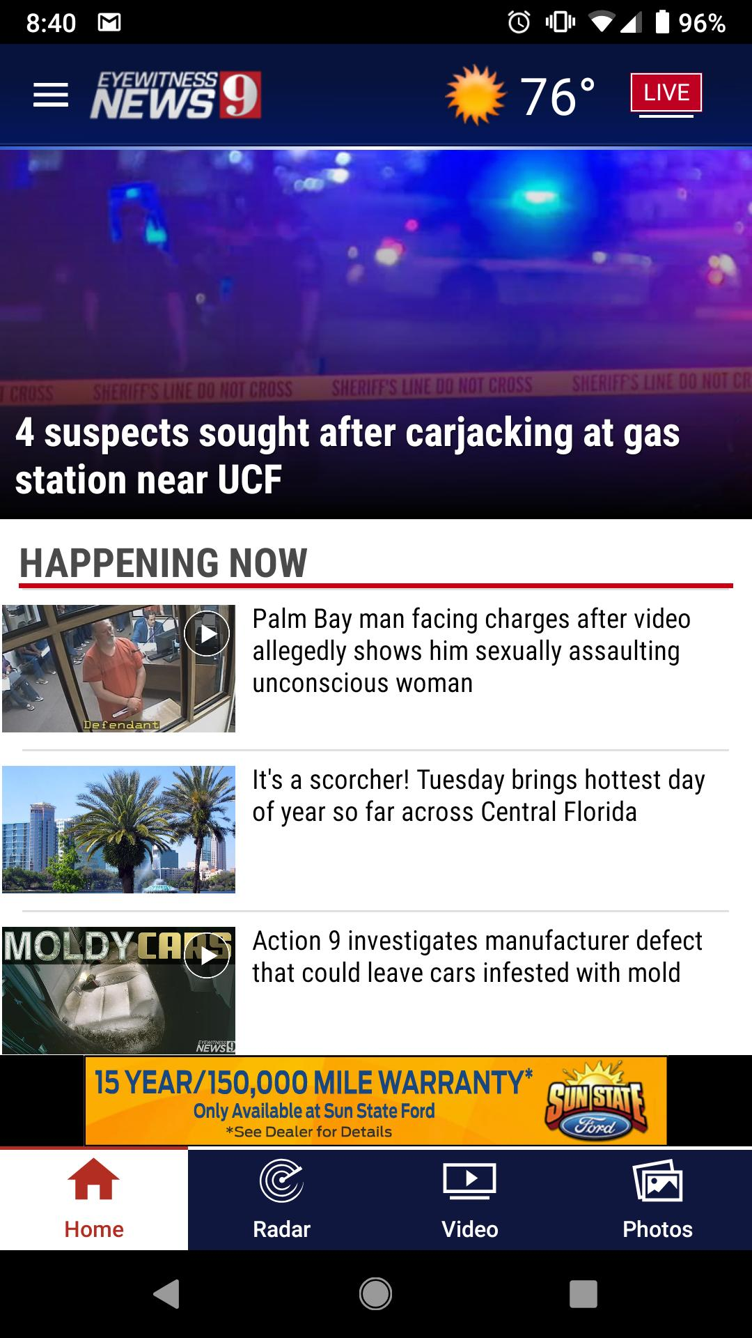 WFTV Channel 9 Eyewitness News for Android - APK Download