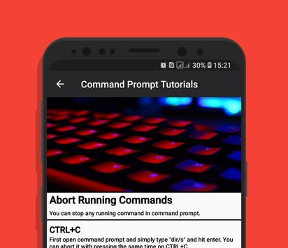 Command Prompt Tutorials - FULL for Android - APK Download
