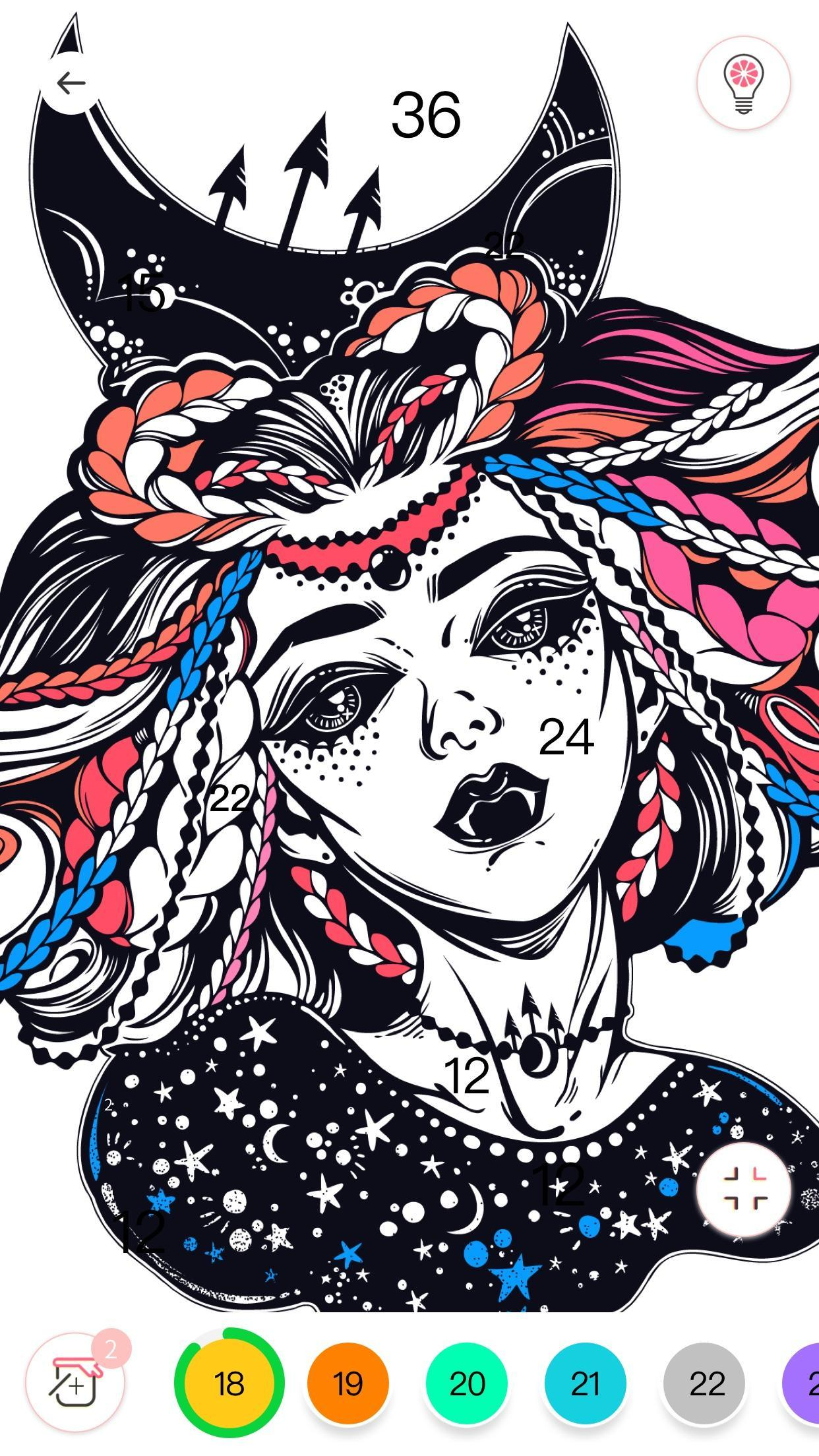 Always Color by Number Adult Paint Colouring Game poster