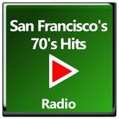 San Francisco's 70's Hits Free Radio Online icon