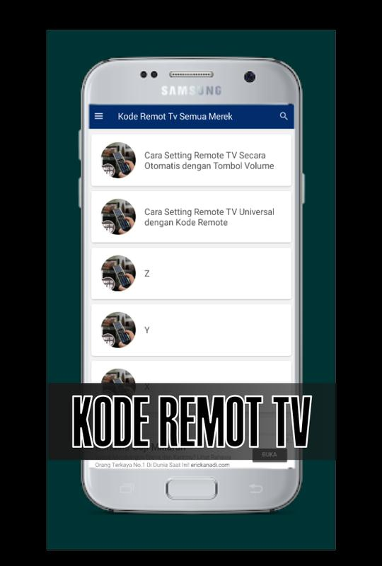 Kode Remote Tv Akari