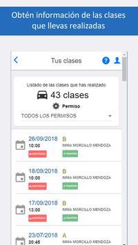 Autoescuelas Alumno screenshot 1