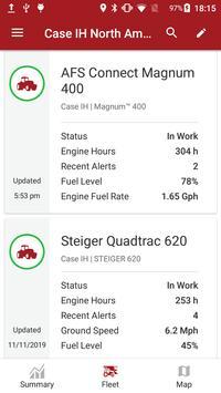 Case IH AFS Connect Fleet screenshot 2