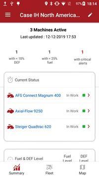 Case IH AFS Connect Fleet screenshot 3