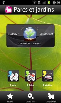 Click 'n Visit Parcs & Jardins poster
