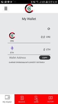 CRG Wallet - CRG COIN poster