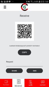 CRG Wallet - CRG COIN screenshot 1