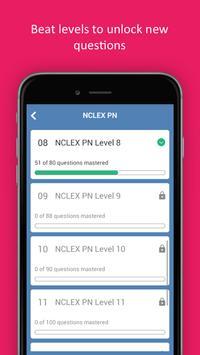 NCLEX Practice Test (PN&RN) 2018 Edition screenshot 4