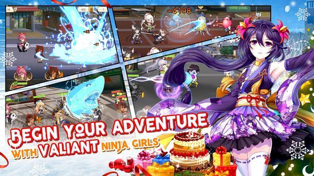 NinjaGirls:Reborn ảnh chụp màn hình 1