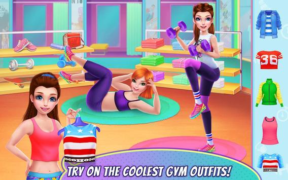 Fitness Girl poster