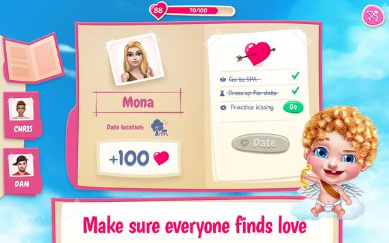 First Love Kiss - Cupid's Romance Mission screenshot 5