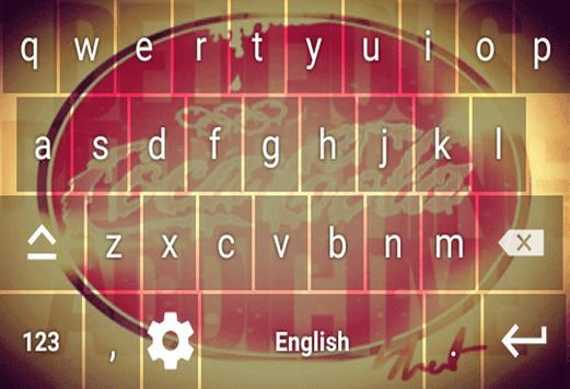 Keyboard Coca Cola screenshot 5