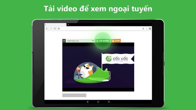 Trình duyệt Cốc Cốc - Duyệt web nhanh & an toàn ảnh chụp màn hình 14