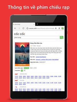 Trình duyệt Cốc Cốc - Duyệt web nhanh & an toàn ảnh chụp màn hình 9