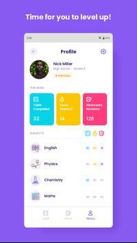 Coachbit - Homework Tracker & Pomodoro Timer capture d'écran 3