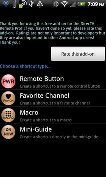 Remote+ Shortcut Addon screenshot 2
