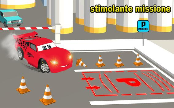 3 Schermata Scuola di parcheggio auto McQueen