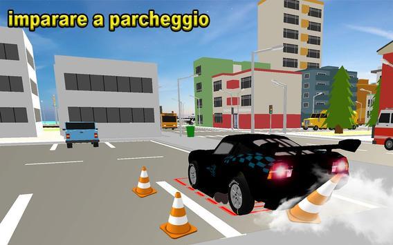 1 Schermata Scuola di parcheggio auto McQueen