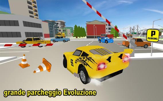 4 Schermata Scuola di parcheggio auto McQueen