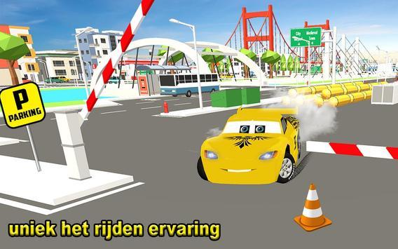 McQueen Car Parking School-poster