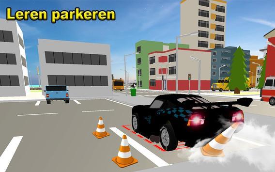 McQueen Car Parking School screenshot 1