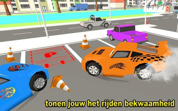 McQueen Car Parking School screenshot 2