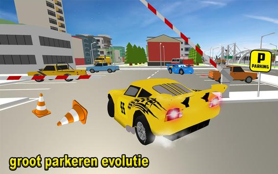 McQueen Car Parking School screenshot 9
