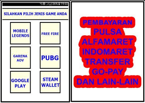 Coda Shop - Top Up Game Indonesia screenshot 2