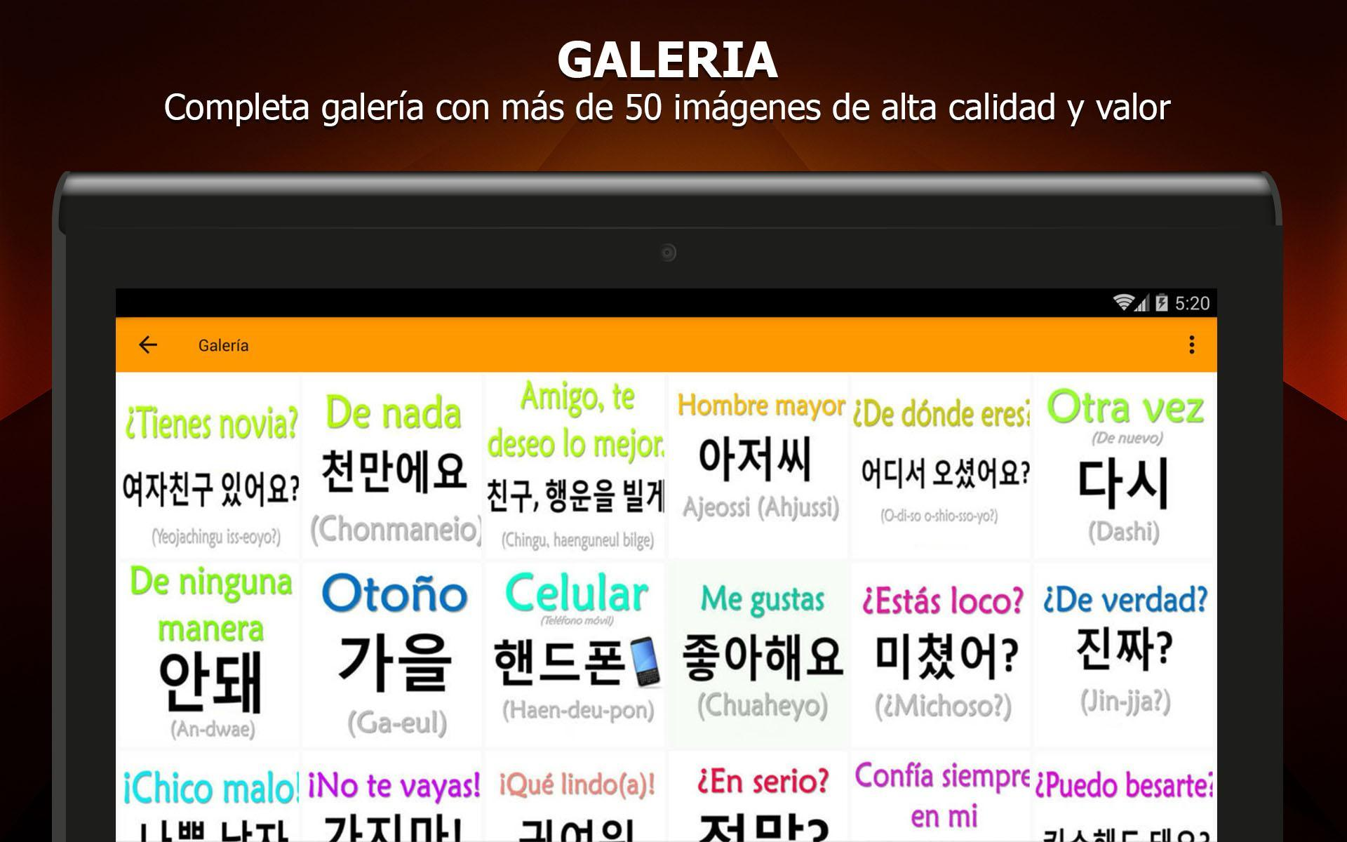 Frases En Coreano For Android Apk Download