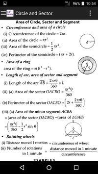 10th Class Math Formula screenshot 1