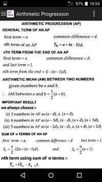 10th Class Math Formula screenshot 2