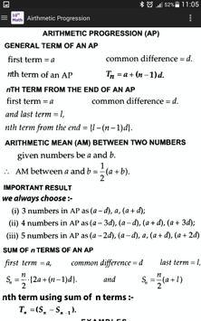 10th Class Math Formula screenshot 5