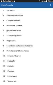 Math Formula screenshot 3