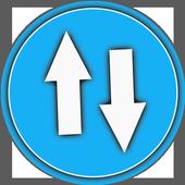 Internet Speed Test Meter - NetSpeed Indicator icon