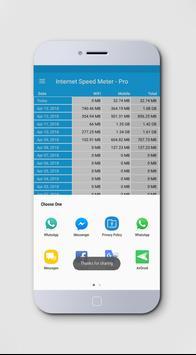 Internet Speed Test Meter - NetSpeed Indicator screenshot 4