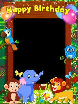 Birthday Photo Frames, Happy Birthday Photo Frame poster
