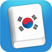 Learn Korean Phrasebook-icoon