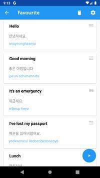Learn Korean Phrasebook syot layar 7