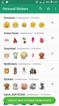 WAStickers - Personal Sticker Maker for WhatsApp poster