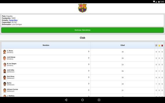 Fútbol en directo captura de pantalla 6