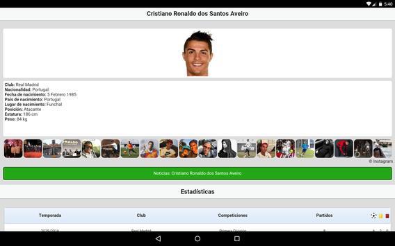 Fútbol en directo captura de pantalla 8