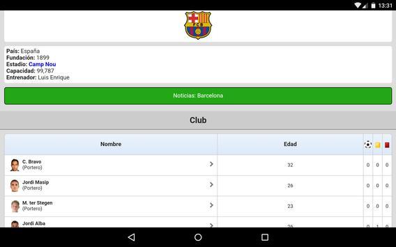 Fútbol en directo captura de pantalla 14