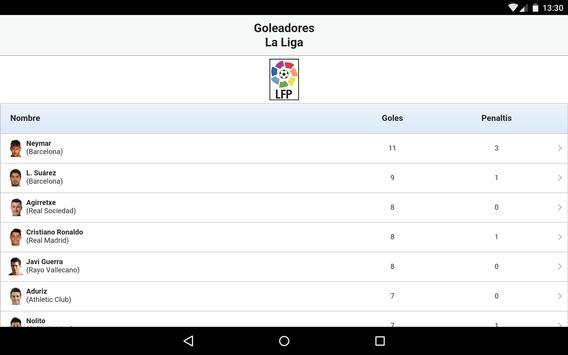 Fútbol en directo captura de pantalla 15