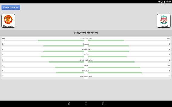 Wyniki na żywo screenshot 15