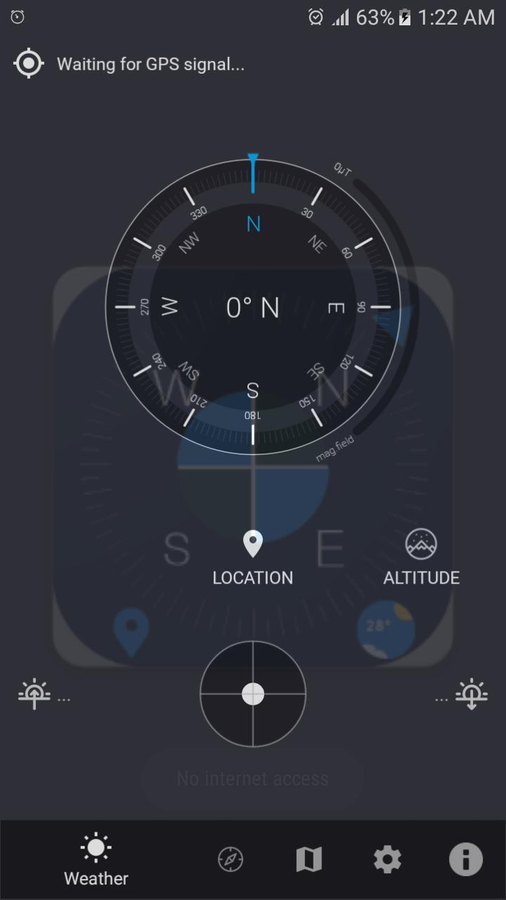 Live Map Digital Compass Navigation Direction for Android