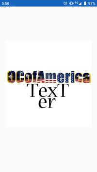 OcOfAmerica Texter screenshot 1